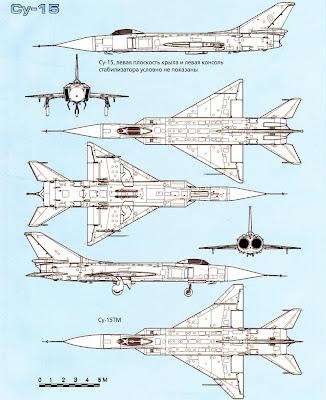 Тактико-технические характеристики Су 15