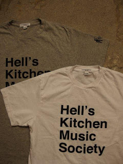 EG WORKADAY × SUNRISE MARKET 別注 Hell's Kitchen Music Society Print T-Shirt