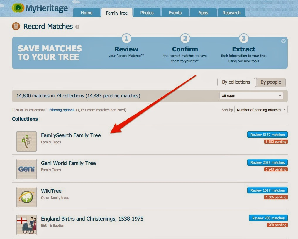 rejoice and be exceeding glad myheritage com finds duplicates