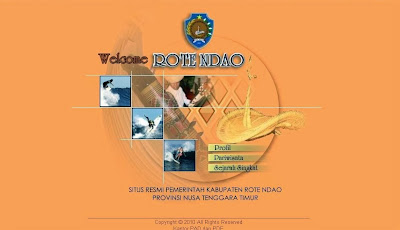 Website Pemerintah, Lambang Kabupaten, Arti Lambang, Rote Ndao, NTT