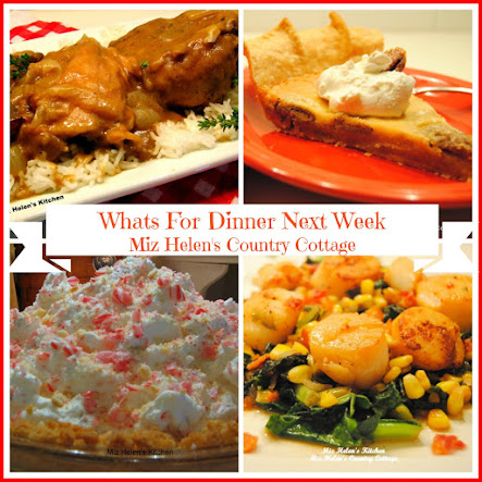 Whats For Dinner Next Week 12-11-16 to 12-17-16