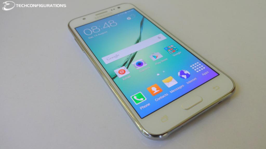 Samsung Galaxy J5 With 5inch HD Super AMOLED DisplayHands On Review