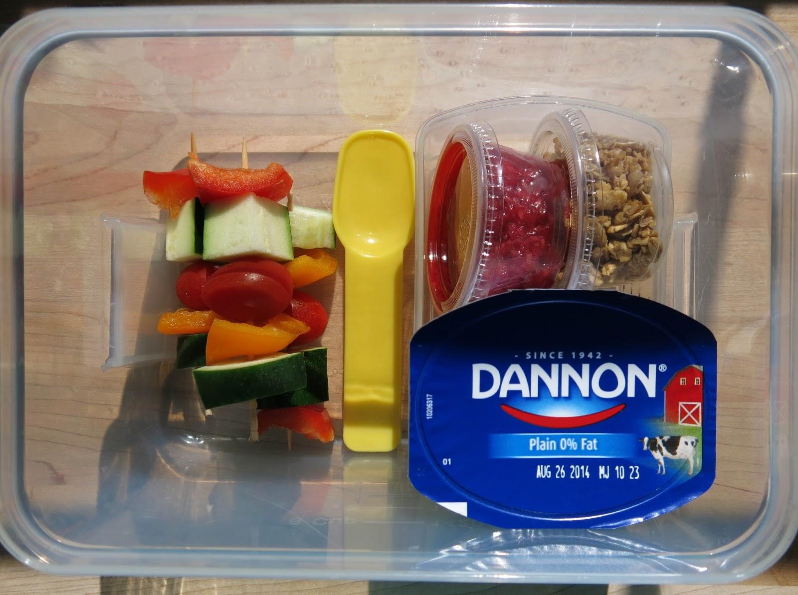 Yogurt Parfait Lunchbox