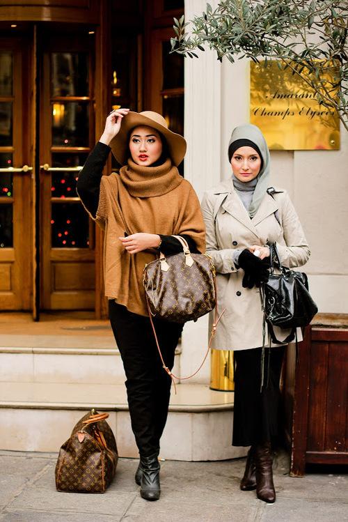Hijab Sreet Style Tutorial Hijab