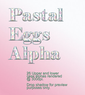 free pastel eggs alpha preview Free Pastal Egg Digiscrap Alpha