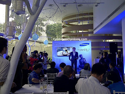 Samsung Galaxy Note Sparkle Project Vincent Chong