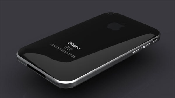 iPhone 5 With Glass Back Panel
