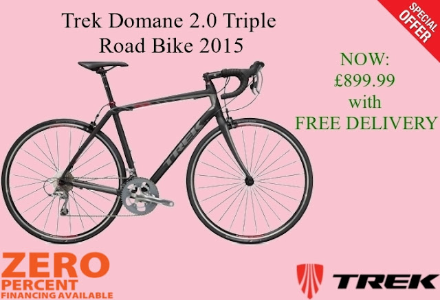 2015 Road Bike: Trek Domane 2.0 Triple