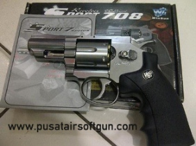 Jual Airsoft Revolver Wingun