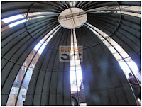 struktur kubah masjid