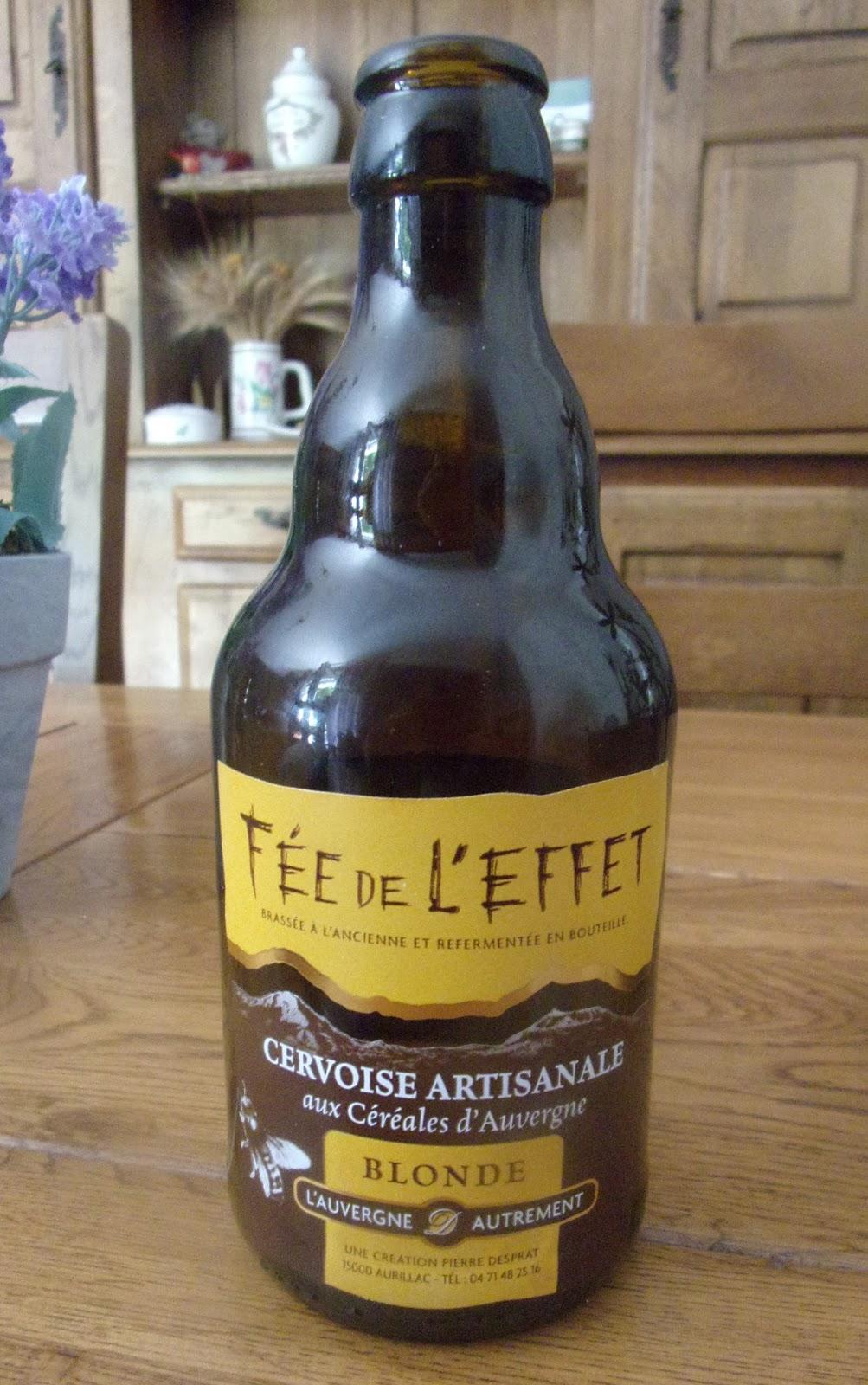 Effet De La Biere p'tit brass'ain: une bière: la fée de l'effet.