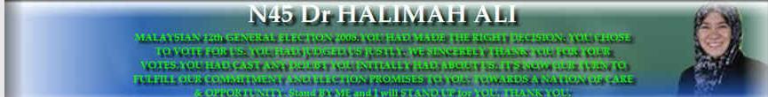 N45 Dr Halimah Ali