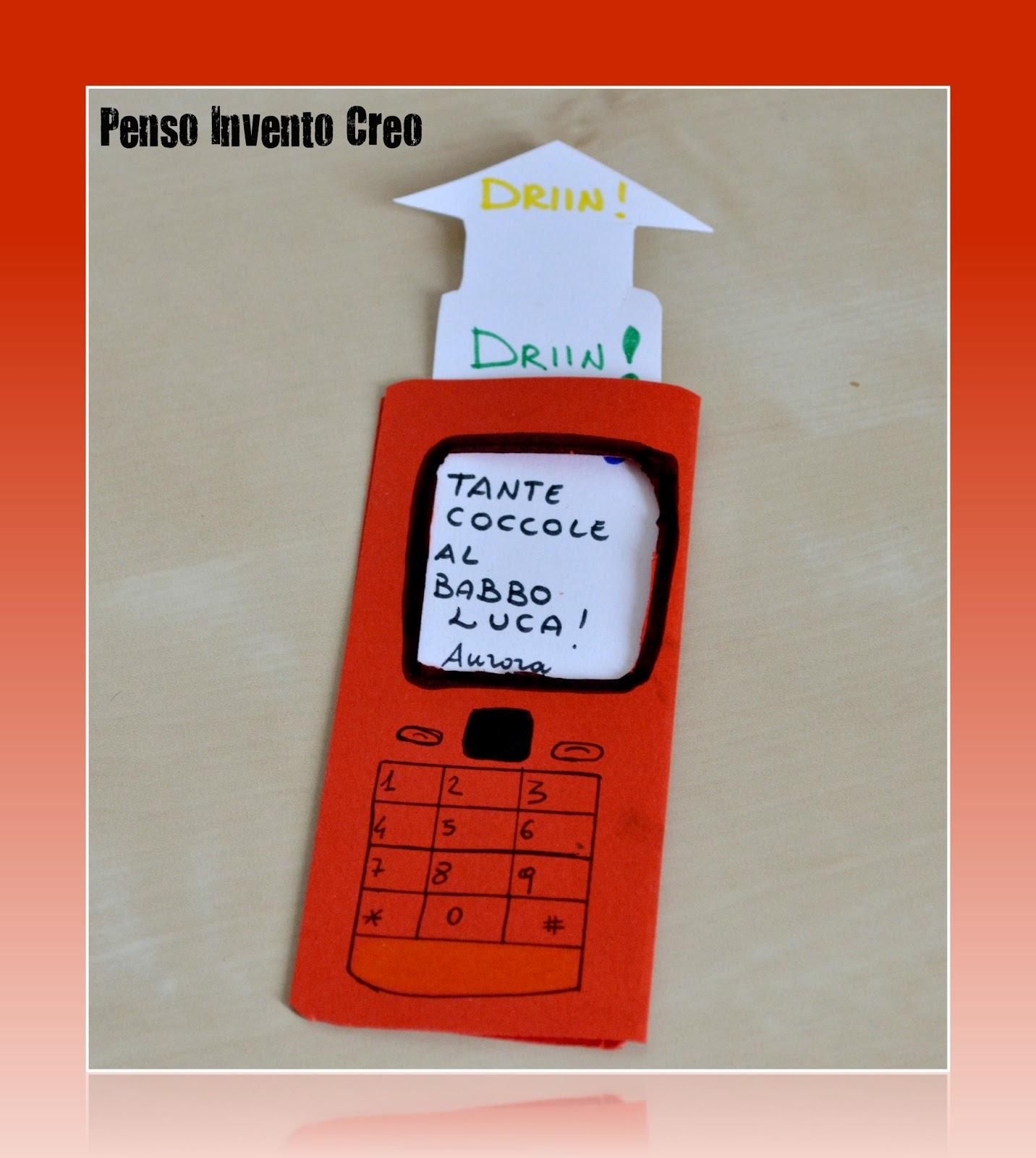 Amato Festa del Papà: biglietto fai da te da stampare - Penso Invento Creo KL09