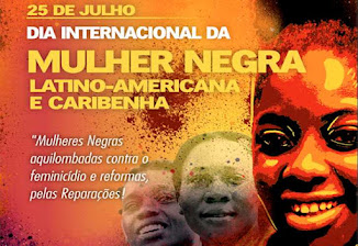 25/7-Dia Internacional da Mulher Negra