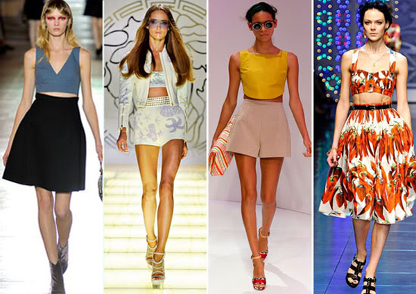 Runway Photos: The Midriff