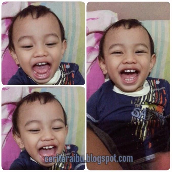 Adik Faris Sudah 18 bulan