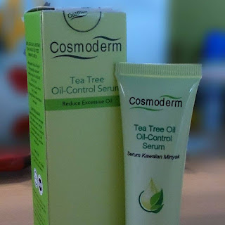 Review Produk | Cosmoderm Tea Tree oil-Control Serum