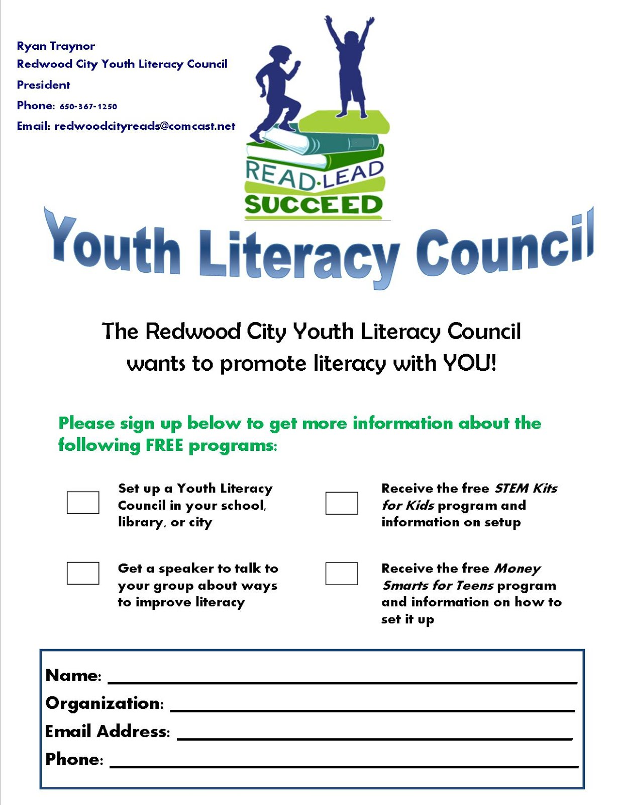 Interested in the Council's Programs for your Area?