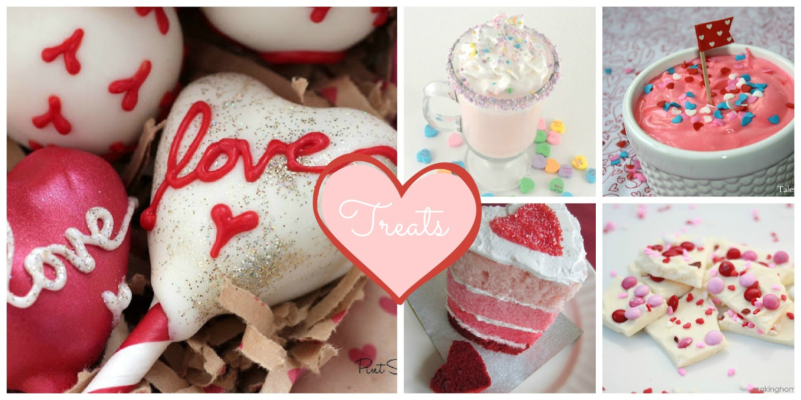 28 Valentine's Day Ideas at createcraftlove.com #valentinesday