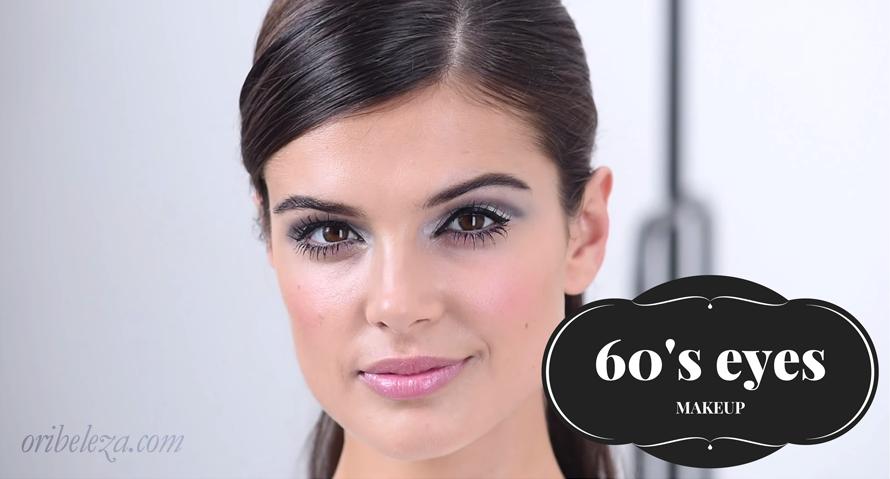 Maquilhagem de Olhos Inspirada nos Anos 60