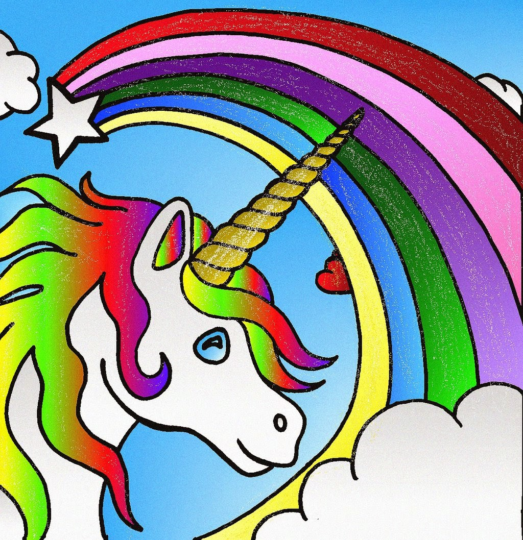 Coloring pages of unicorns - Unicorn Coloring Pages Coloring Filminspector Com