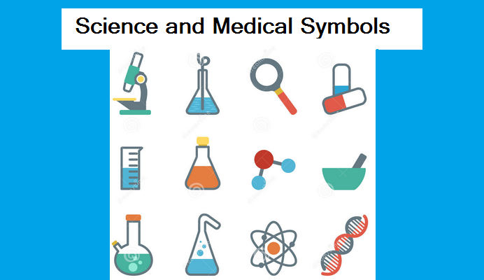 Science and Medical Symbols in HTML