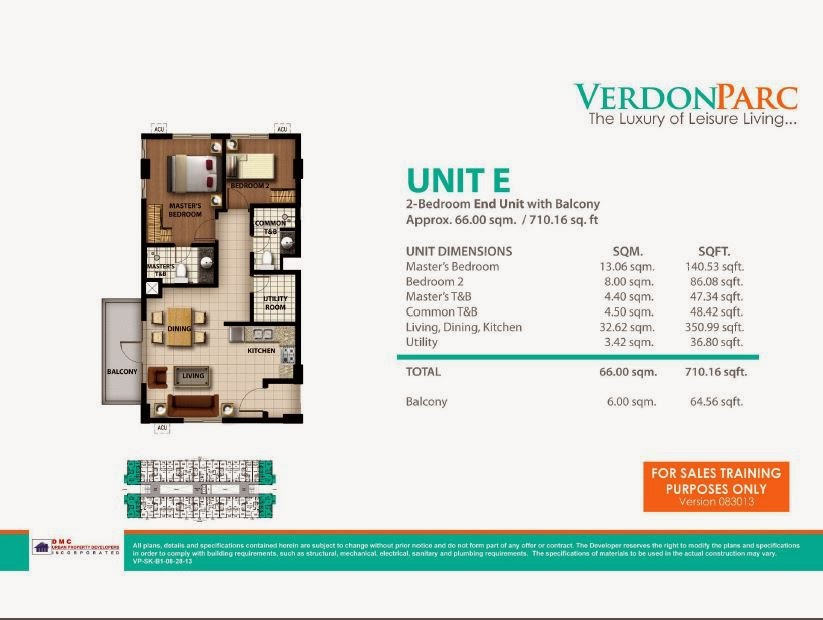 Verdon Parc Davao Unit E