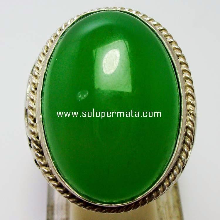 Batu Permata Green Calcedhony Huge