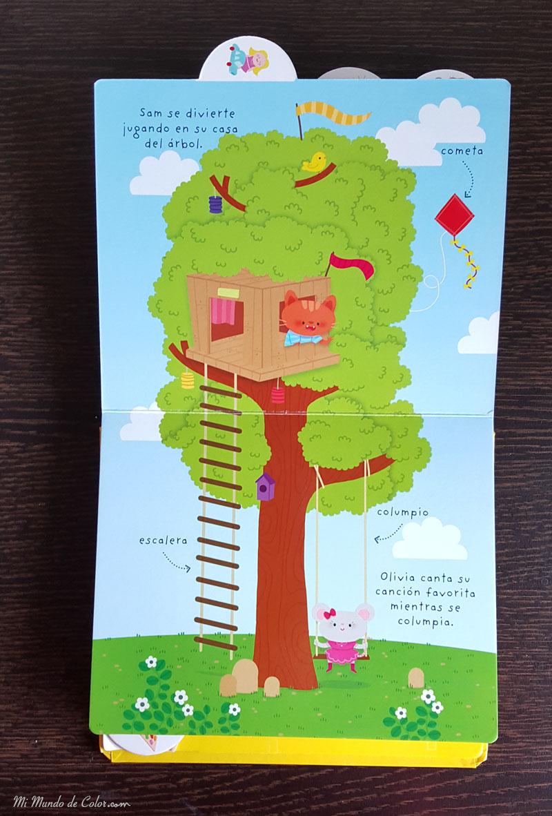 reseña literatura infantil  mi mundo sam y olivia