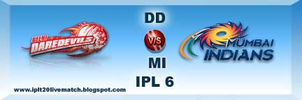 IPL 6 DD vs MI Highlight and Most Sixes Highlight