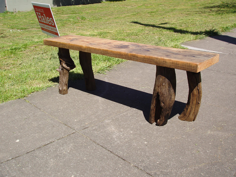 New Driftedge Woodworking QuotBull At The Gatesquot Driftwood Bench