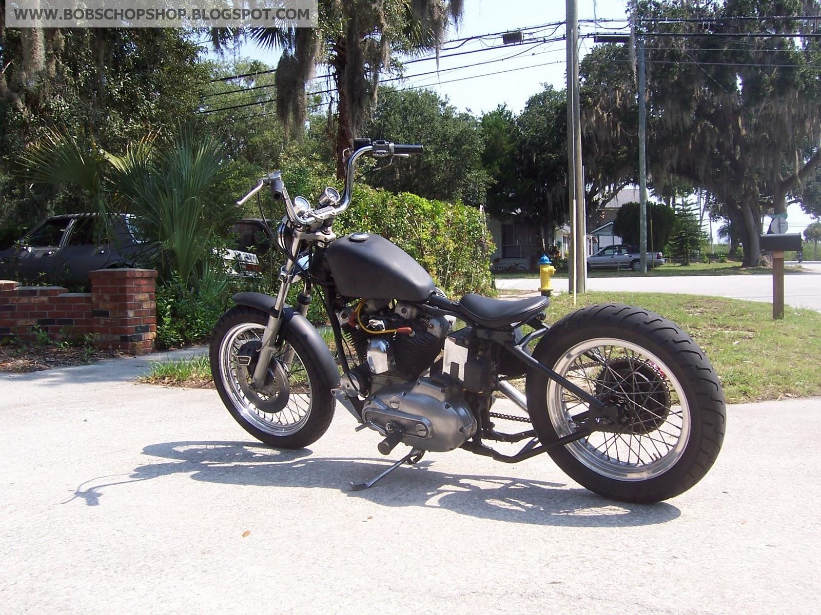 Harley Sportster Bobber Chopper   Free HD Wallpaper