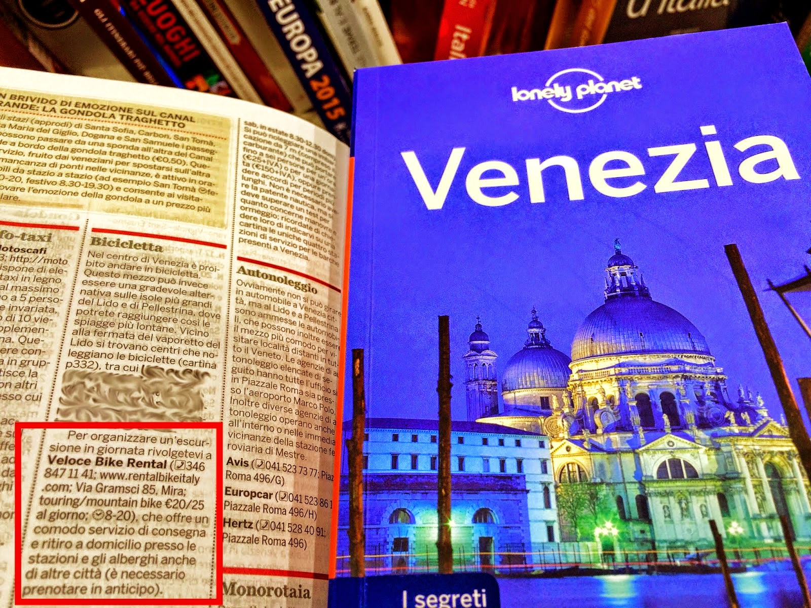 cycling italy lonely planet guide
