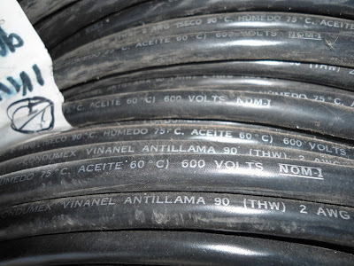 Tipos de aislantes de cables eléctricos