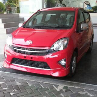 warna Agya Red 2014