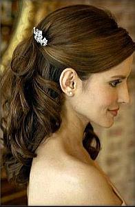 Peinados, Dama de Honor, Cabello Suelto