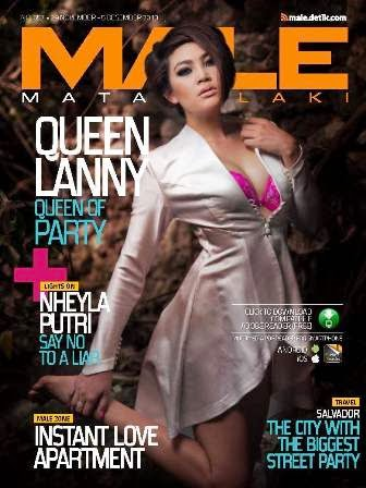 MALE Mata Lelaki 057 - Queen Lanny - Queen of Party