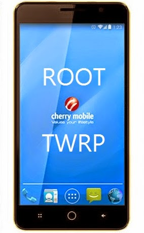 Root TWRP Cherry Mobile Fuze S