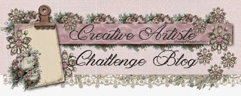 Challenge Creative Artiste Mixed Media - anything that mixes with mixed media