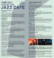 Jazz Café June