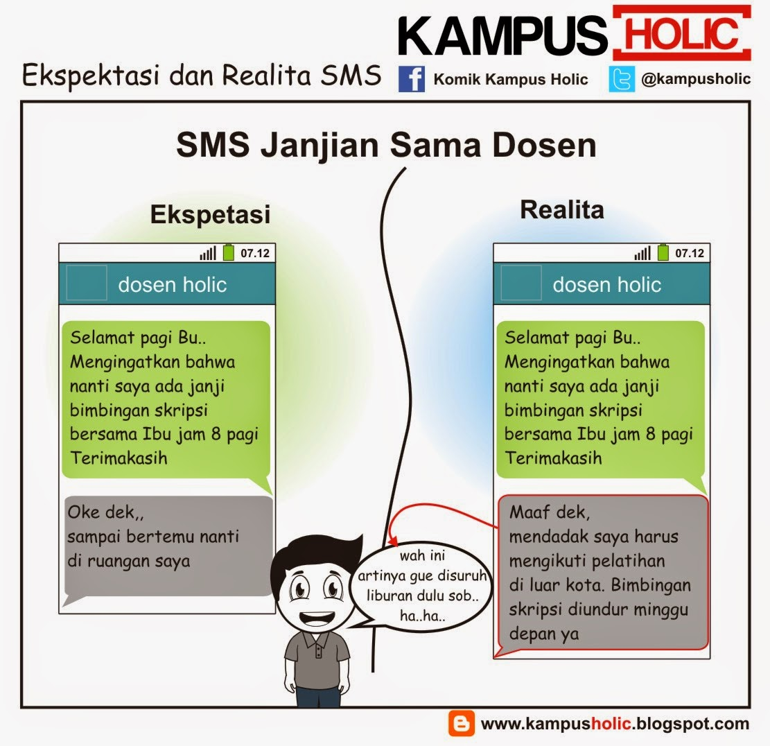 #780 Ekspektasi dan Realita SMS