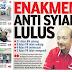 #PRKSgLimau @ustazfathulbari Persoal PAS Tak Sokong Enakmen Haram Syiah Di Kedah