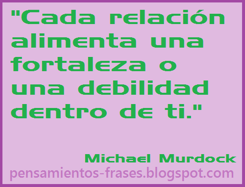 frases de Michael Murdock
