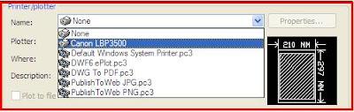 Hướng dẫn in bản vẽ CAD trên phần mềm AutoCAD