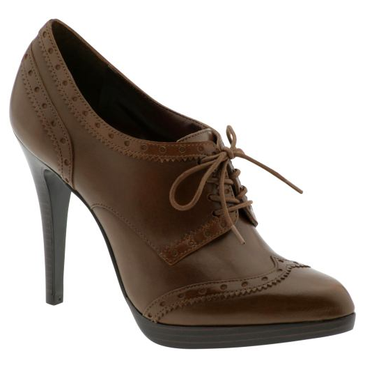 Elegant  Heel Retro Vintage Style Lace Up Dress Oxford Shoes Women SKU1090639
