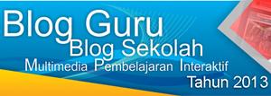Lomba Blog Guru, Blog Sekolah dan MPI 2013