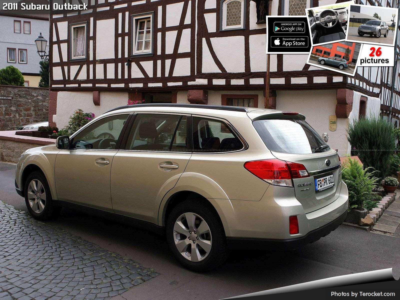 Hình ảnh xe ô tô Subaru Outback 2011 & nội ngoại thất