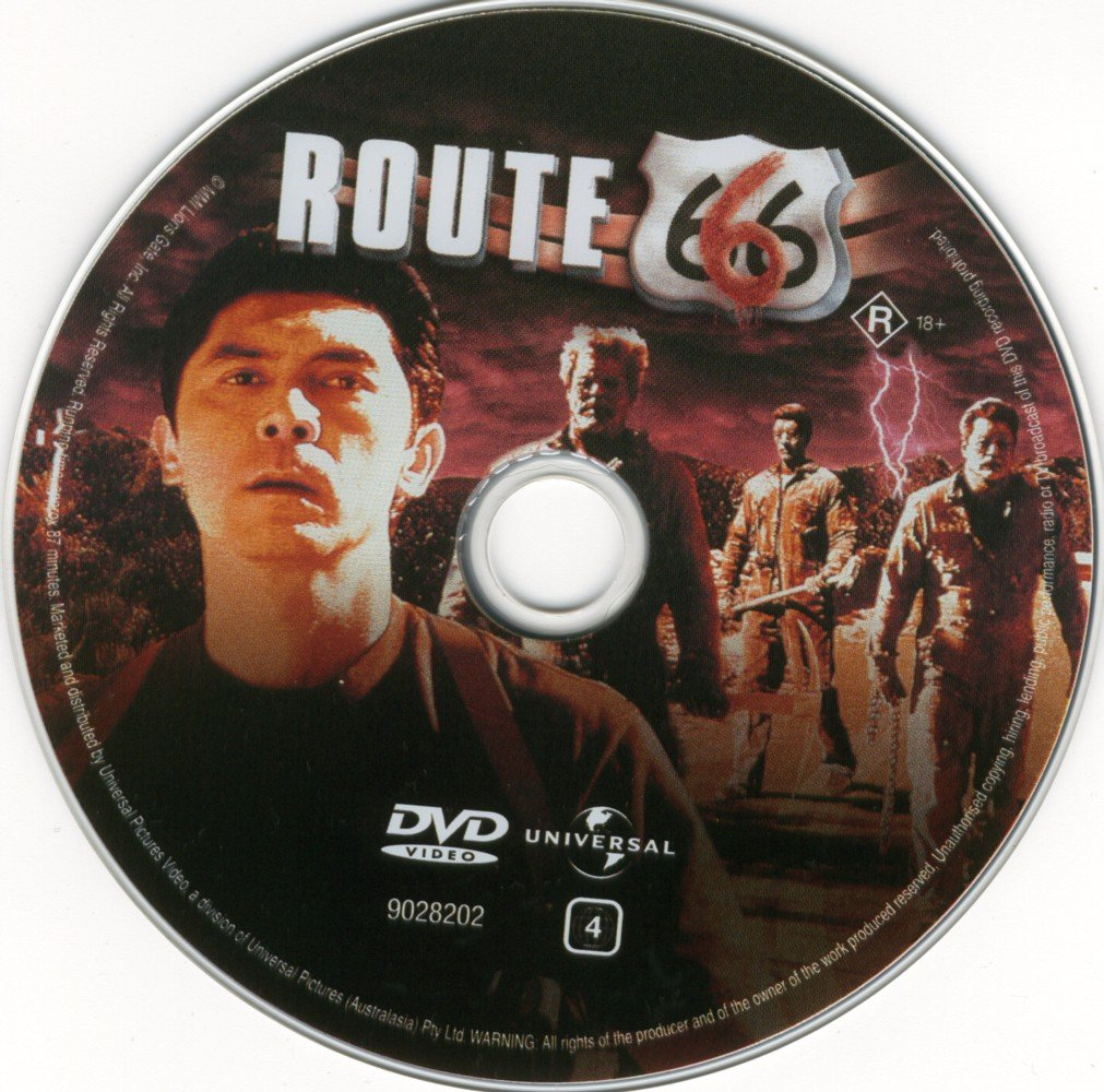 Label DVD Route 666