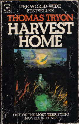 Harvest Home by Thomas Tryon (1973, Hardcover)