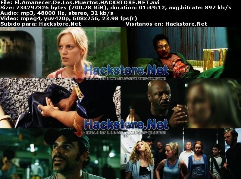 Captura El Amanecer De Los Muertos (2004) DVDRip Latino